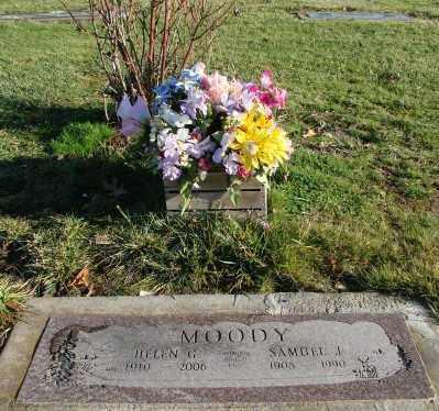 MOODY, SAMUEL J - Polk County, Oregon | SAMUEL J MOODY - Oregon Gravestone Photos