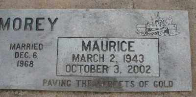 MOREY, MAURICE - Polk County, Oregon | MAURICE MOREY - Oregon Gravestone Photos