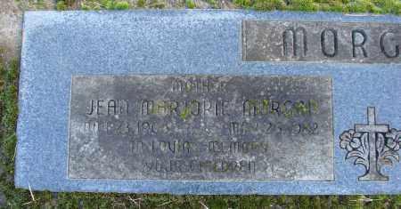 MORGAN, JEAN MARJORIE - Polk County, Oregon   JEAN MARJORIE MORGAN - Oregon Gravestone Photos