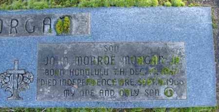 MORGAN, JOHN MONROE - Polk County, Oregon   JOHN MONROE MORGAN - Oregon Gravestone Photos
