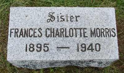 MORRIS, FRANCIS CHARLOTTE - Polk County, Oregon   FRANCIS CHARLOTTE MORRIS - Oregon Gravestone Photos