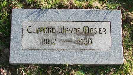 MOSIER, CLIFFORD WAYNE - Polk County, Oregon   CLIFFORD WAYNE MOSIER - Oregon Gravestone Photos