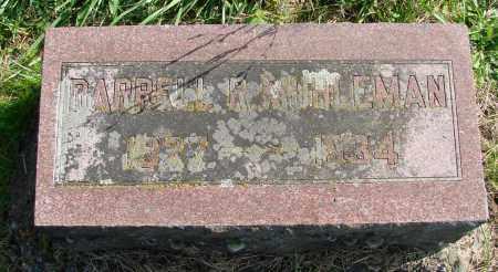 MUHLEMAN, DARRELL R - Polk County, Oregon | DARRELL R MUHLEMAN - Oregon Gravestone Photos