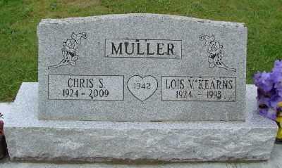 MULLER, LOIS V - Polk County, Oregon | LOIS V MULLER - Oregon Gravestone Photos