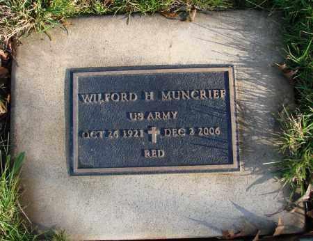 MUNCRIEF, WILFORD HUGH - Polk County, Oregon | WILFORD HUGH MUNCRIEF - Oregon Gravestone Photos