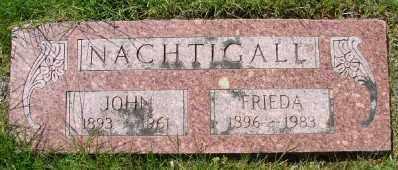 NACHTIGALL, JOHN - Polk County, Oregon | JOHN NACHTIGALL - Oregon Gravestone Photos