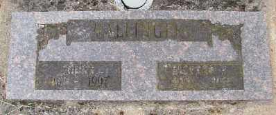 NALLINGER, RICHARD H - Polk County, Oregon | RICHARD H NALLINGER - Oregon Gravestone Photos