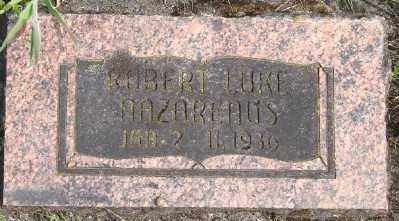 NAZARENUS, ROBERT LUKE - Polk County, Oregon | ROBERT LUKE NAZARENUS - Oregon Gravestone Photos