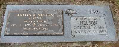NELSON, ROLLIN R - Polk County, Oregon   ROLLIN R NELSON - Oregon Gravestone Photos