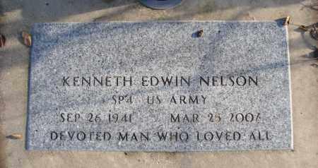 NELSON, KENNETH EDWIN - Polk County, Oregon | KENNETH EDWIN NELSON - Oregon Gravestone Photos