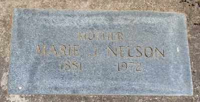 NELSON, MARIE J - Polk County, Oregon   MARIE J NELSON - Oregon Gravestone Photos