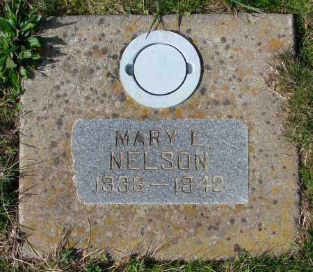 NELSON, MARY E - Polk County, Oregon   MARY E NELSON - Oregon Gravestone Photos
