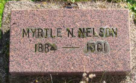 NELSON, MYRTLE N - Polk County, Oregon   MYRTLE N NELSON - Oregon Gravestone Photos