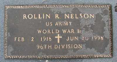 NELSON (WWII), ROLLIN R - Polk County, Oregon | ROLLIN R NELSON (WWII) - Oregon Gravestone Photos