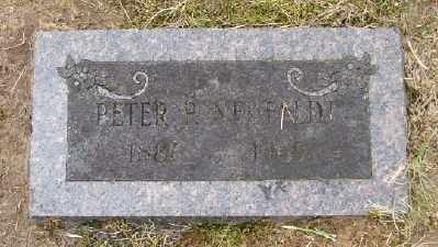 NEUFELDT, PETER P - Polk County, Oregon | PETER P NEUFELDT - Oregon Gravestone Photos
