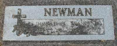 NEWMAN, FRANCES C - Polk County, Oregon | FRANCES C NEWMAN - Oregon Gravestone Photos
