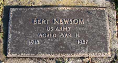 NEWSOM (WWII), BERT - Polk County, Oregon | BERT NEWSOM (WWII) - Oregon Gravestone Photos