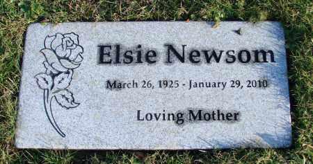 NEWSOM, ELSIE - Polk County, Oregon | ELSIE NEWSOM - Oregon Gravestone Photos