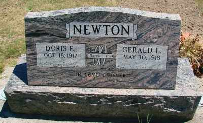 NEWTON, DORIS E - Polk County, Oregon | DORIS E NEWTON - Oregon Gravestone Photos