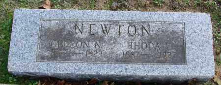 BYERS NEWTON, RHODA ELVIRA ELIZABETH - Polk County, Oregon | RHODA ELVIRA ELIZABETH BYERS NEWTON - Oregon Gravestone Photos