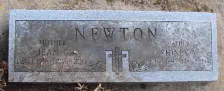 NEWTON, JEAN C - Polk County, Oregon | JEAN C NEWTON - Oregon Gravestone Photos
