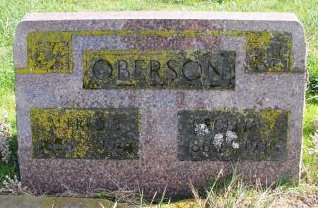 OBERSON, CECELIA - Polk County, Oregon   CECELIA OBERSON - Oregon Gravestone Photos