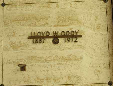 ODDY, LLOYD W - Polk County, Oregon   LLOYD W ODDY - Oregon Gravestone Photos