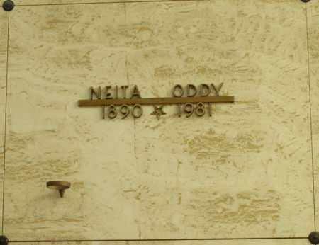 ODDY, NEITA - Polk County, Oregon | NEITA ODDY - Oregon Gravestone Photos