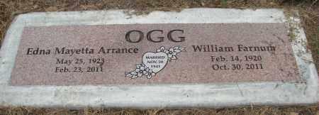 ARRANCE OGG, EDNA MAYETTA - Polk County, Oregon | EDNA MAYETTA ARRANCE OGG - Oregon Gravestone Photos