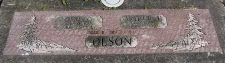 OLSON, ARTHUR H - Polk County, Oregon   ARTHUR H OLSON - Oregon Gravestone Photos