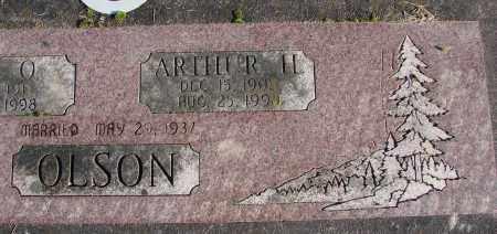 OLSON, ARTHUR H - Polk County, Oregon | ARTHUR H OLSON - Oregon Gravestone Photos