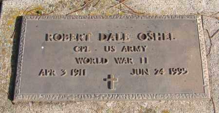 OSHEL (WWII), ROBERT DALE - Polk County, Oregon | ROBERT DALE OSHEL (WWII) - Oregon Gravestone Photos