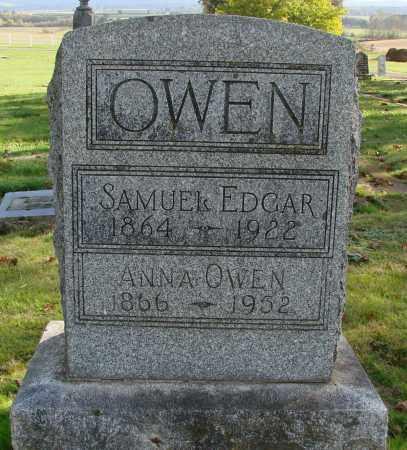 OWEN, ANNA - Polk County, Oregon | ANNA OWEN - Oregon Gravestone Photos