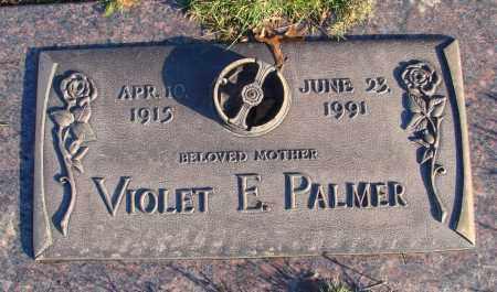 PALMER, VIOLET E - Polk County, Oregon   VIOLET E PALMER - Oregon Gravestone Photos