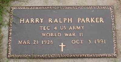 PARKER, HARRY RALPH - Polk County, Oregon   HARRY RALPH PARKER - Oregon Gravestone Photos
