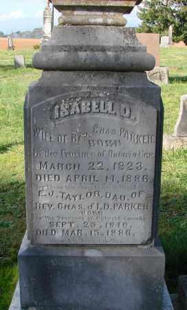 PARKER, ISABELL D - Polk County, Oregon | ISABELL D PARKER - Oregon Gravestone Photos