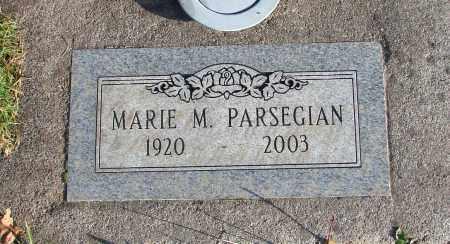 PARSEGIAN, MARIE M - Polk County, Oregon | MARIE M PARSEGIAN - Oregon Gravestone Photos