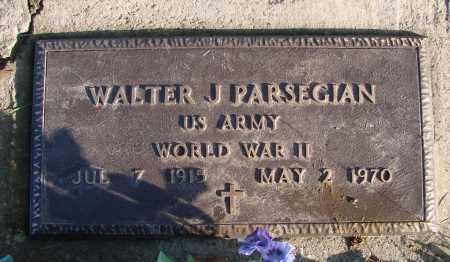 PARSEGIAN (WWII), WALTER J - Polk County, Oregon   WALTER J PARSEGIAN (WWII) - Oregon Gravestone Photos