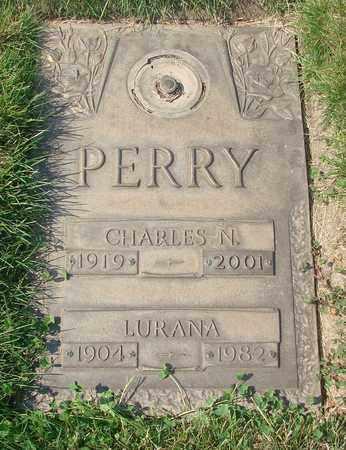 PERRY, LURANA - Polk County, Oregon   LURANA PERRY - Oregon Gravestone Photos