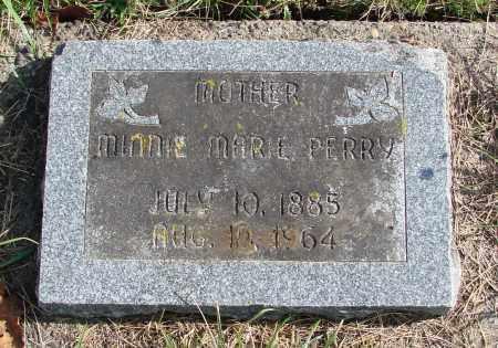 PERRY, MINNIE MARIE - Polk County, Oregon | MINNIE MARIE PERRY - Oregon Gravestone Photos