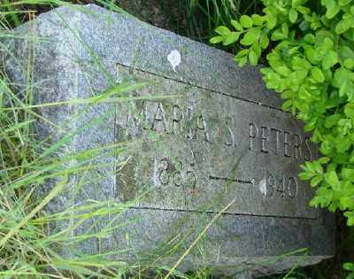 PETERS, MARIA S - Polk County, Oregon | MARIA S PETERS - Oregon Gravestone Photos