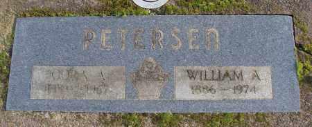 PETERSEN, CORA A - Polk County, Oregon | CORA A PETERSEN - Oregon Gravestone Photos