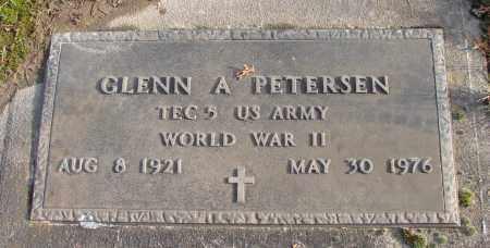 PETERSEN, GLENN A - Polk County, Oregon | GLENN A PETERSEN - Oregon Gravestone Photos