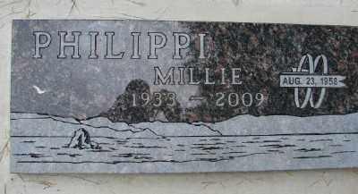 PAYNE PHILIPPI, MILDRED JOSEPHINE - Polk County, Oregon | MILDRED JOSEPHINE PAYNE PHILIPPI - Oregon Gravestone Photos