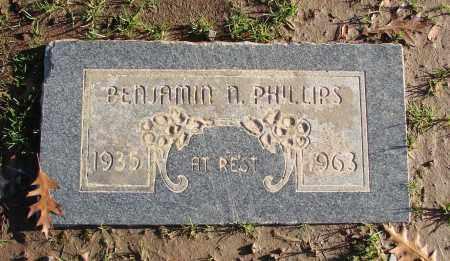 PHILLIPS, BENJAMIN N - Polk County, Oregon | BENJAMIN N PHILLIPS - Oregon Gravestone Photos