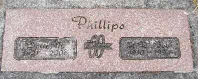 PHILLIPS, DORIS M - Polk County, Oregon   DORIS M PHILLIPS - Oregon Gravestone Photos