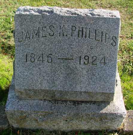 PHILLIPS, JAMES K - Polk County, Oregon | JAMES K PHILLIPS - Oregon Gravestone Photos