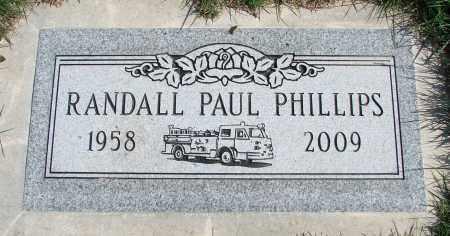 PHILLIPS, RANDALL PAUL - Polk County, Oregon | RANDALL PAUL PHILLIPS - Oregon Gravestone Photos