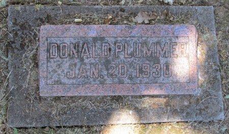 PLUMMER, DONALD - Polk County, Oregon   DONALD PLUMMER - Oregon Gravestone Photos