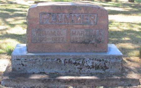 PLUMMER, MARTHA E - Polk County, Oregon | MARTHA E PLUMMER - Oregon Gravestone Photos